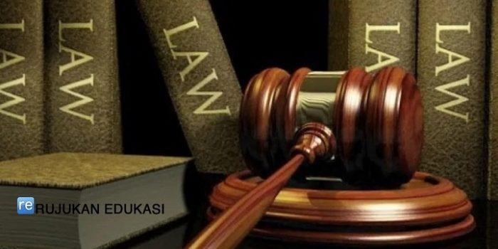 Pengertian Ilmu Hukum
