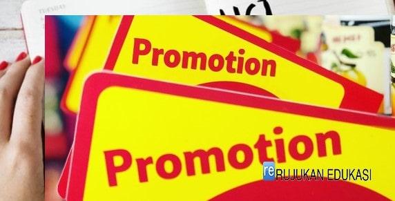 Apakah Tujuan Pelaksanaan Promosi?